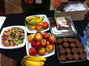 Treats at INBF Comp