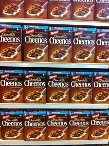 chocolate cheerios