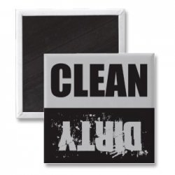 clean or dirty dishes