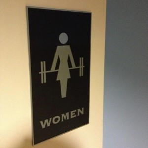 women locker room