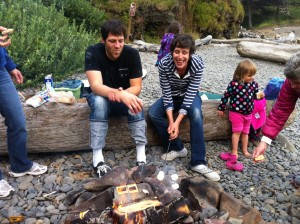 Of course we want to roast marshmallows and make smores!