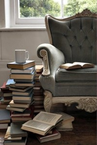 I am going to have to set up a reading corner in my house!
