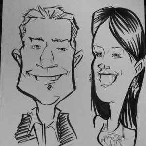 It was fun to be 'cartooned'!