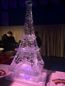 Ice sculptures...you don't see those every day...