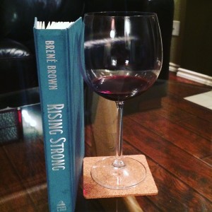 Wine and a fabulous book, I need nothing else on a cold, dark evening in the subarctic ... well except a crackling fire in the fireplace. :)