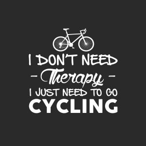 I just need to go cycling