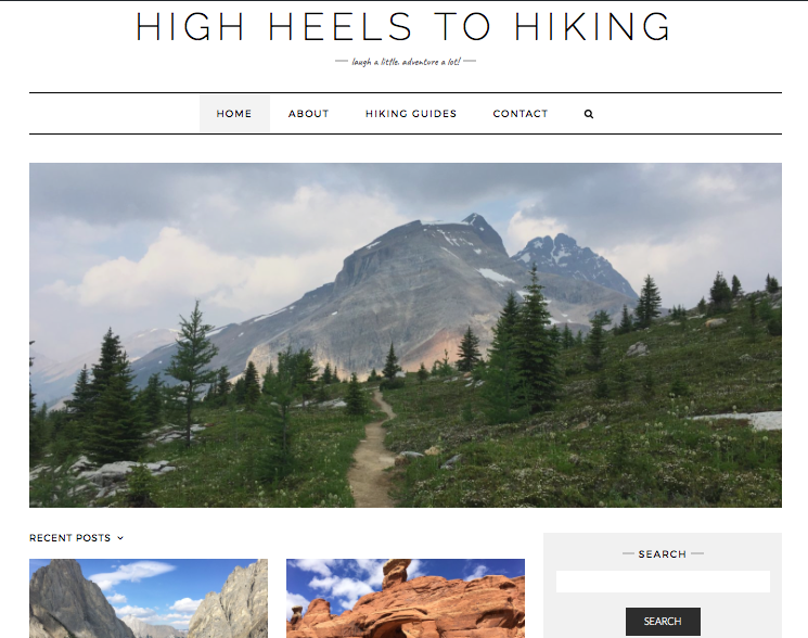 High Heels To Hiking