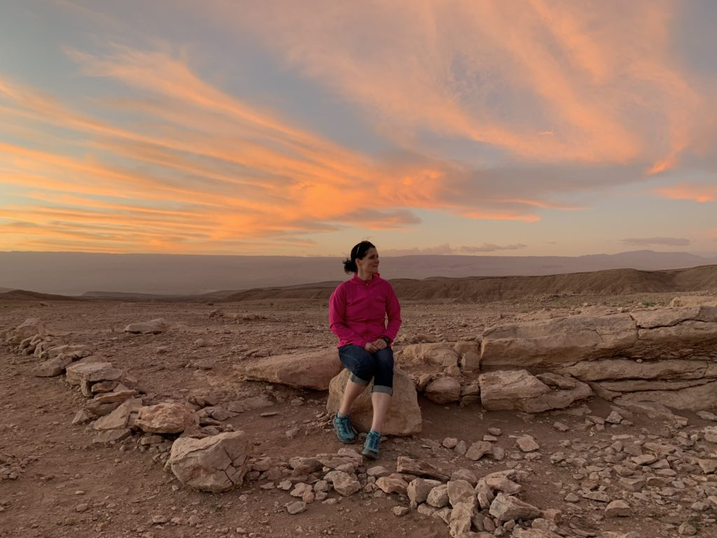Sunset in the Atacama